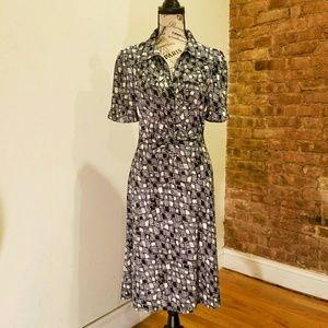 Diane von Furstenberg Multi-print Dress